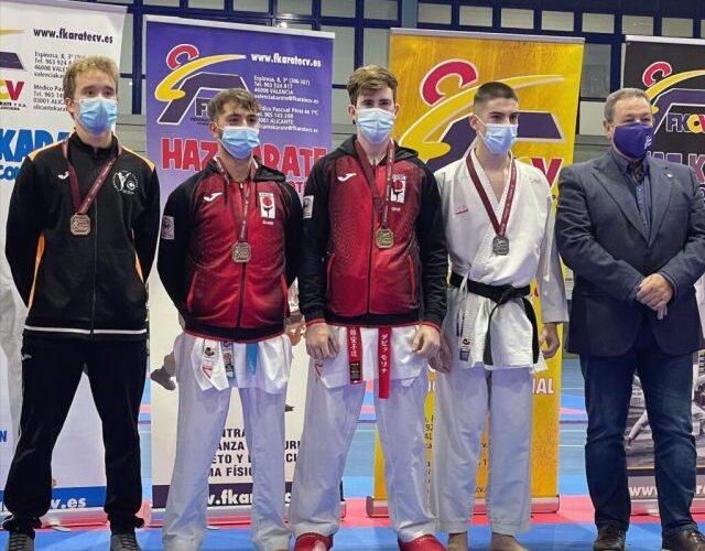 Dos nuevos bronces autonómicos para el Karate Club San Vicente 0 (0)