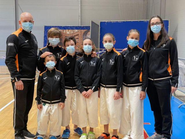 El equipo infantil del Karate Club San Vicente roza la final del Campeonato de España