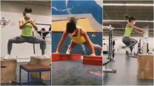 El brutal entrenamiento de Sandra Sánchez
