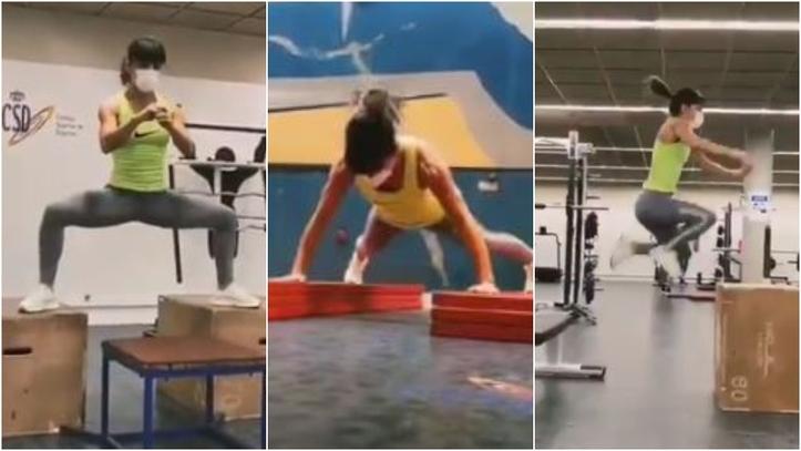 El brutal entrenamiento de Sandra Sánchez 0 (0)