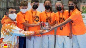 Gran éxito de los alumnos del Club Karate Tomás Herrero de Torrejón