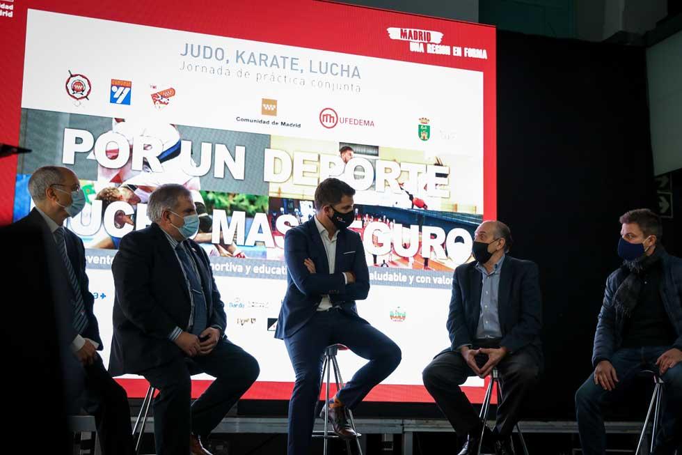 Se celebra en Villaviciosa de Odón la primera jornada de 'Deporte Seguro'