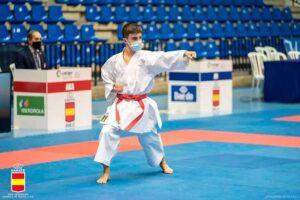 El joven alcalaíno Alejandro Galán Lacón subcampeón de España en la modalidad de Katas