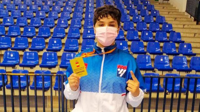 La alcalaína Andrea Salazar se proclama campeona de España sub-21 de kárate