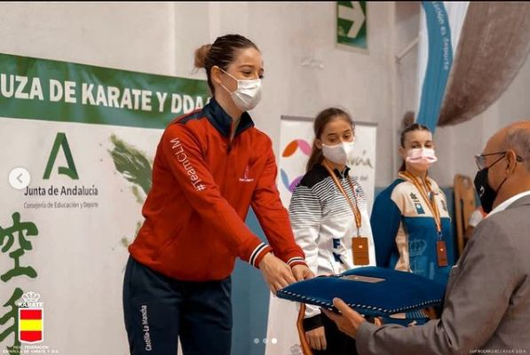 Andrea García Jerez, la lagarterana campeona de España Sub21