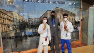 Dos medallas para Canarias en el Campeonato de España Infantil de Kárate