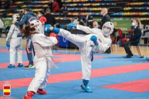 Buena actuación de los karatecas ceutíes en el Nacional de Guadalajara