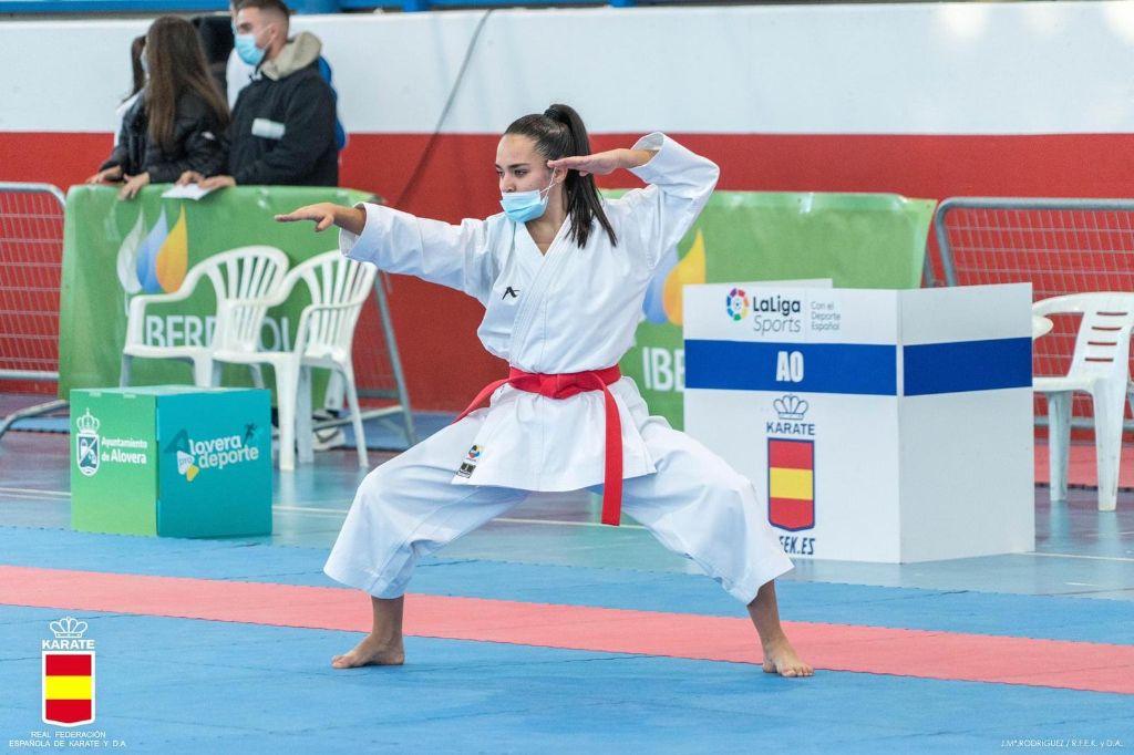 Daniella Sánchez roza la fase final del Campeonato de España de kárate