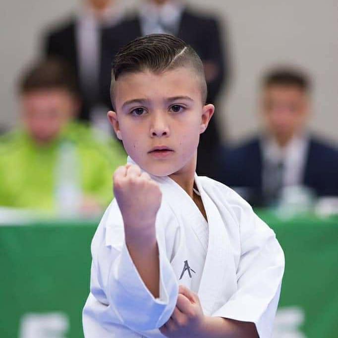 David Gómez campeón de España en la Liga Nacional de Karate