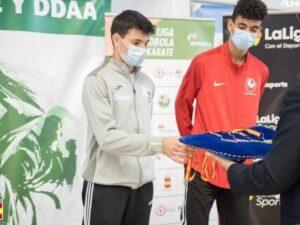 Dónovan Pérez, bronce en la fase final de las Ligas Nacionales de Kárate