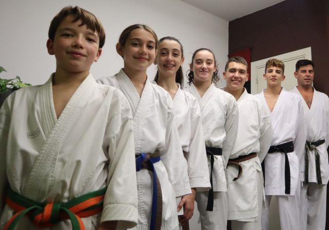 Los de Físics a la gran final de karate de la RFEK