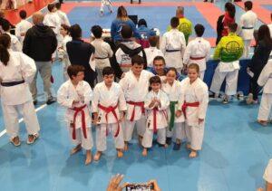 El jovencísimo Héctor Martín, de Talavera, medalla de oro en la final de la Liga Nacional de Karate