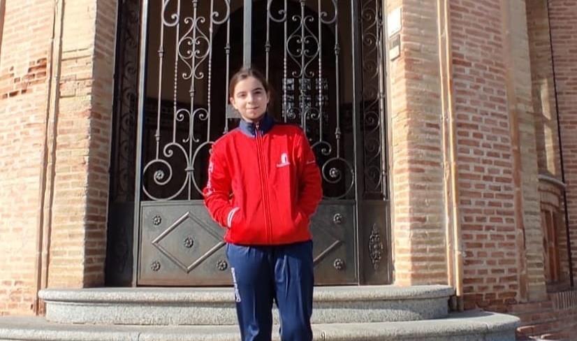 Irene Ramírez va a por todas al Campeonato de España de karate escolar