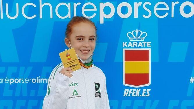 El Club Kanku cierra el año con tres oros y una plata más en el Campeonato de España Infantil