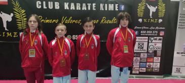 El Club Kime de Boo de Piélagos logra 4 medallas en el Campeonato de España infantil de kárate 0 (0)