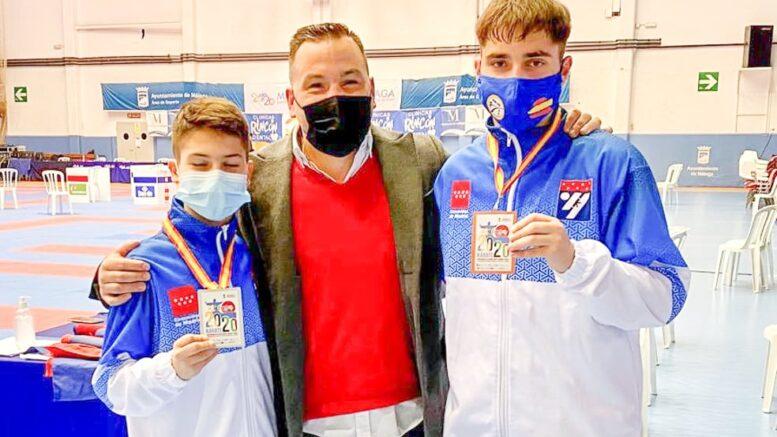 El Club Iván Leal consiguió tres medallas en el Campeonato de España de Karate