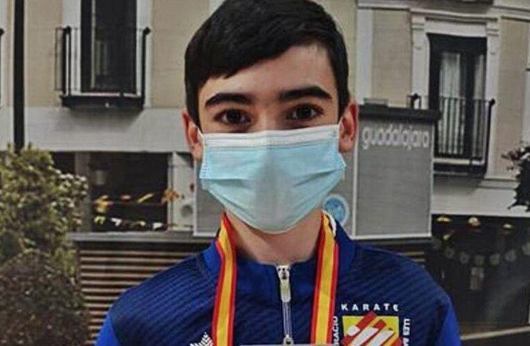 Lucas Pareja se cuelga la plata en el Nacional Infantil 0 (0)