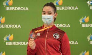 Bronce para Lucía Guerrero en la gran final Nacional