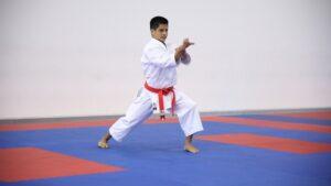 Mariano Wong y Antonella Blanco ganaron la competencia interna de kata que organizó la Federación Peruana de Karate