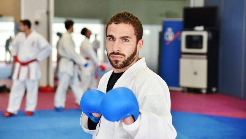 Matías Gómez, decepcionado por que el kárate no sea deporte olímpico