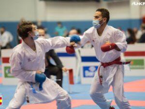 Plata para Matías Gómez en la final de la Liga Nacional de karate