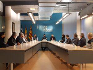 El presidente de la Federación Española de Kárate visita la isla y se preocupa por la salud de este deporte en Ibiza