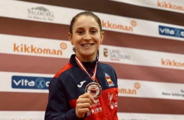 """Nadia Gómez: """"Vamos a seguir luchando para que el karate vuelva a ser olímpico"""""""