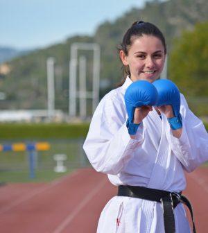 Noelia Grau Castillejos campeona de España de Kárate 2020