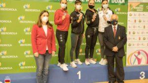 Medalla de bronce para Nuria Escudero Solís en la Liga Nacional de Karate