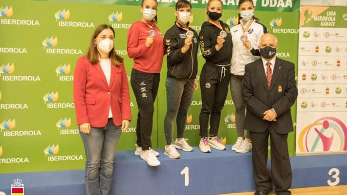 Medalla de bronce para Nuria Escudero Solís en la Liga Nacional de Karate 0 (0)