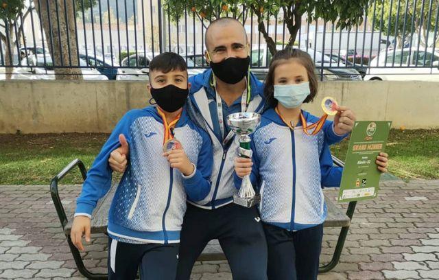Dos medallas de oro y un bronce para el club «ON Sport & Wellness» en la final de la liga nacional de kárate 0 (0)