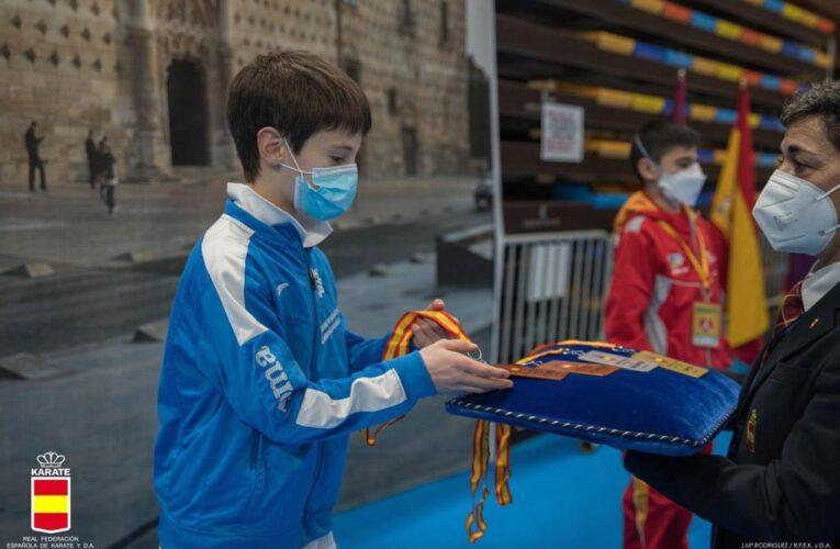 Oihan Ayerdi, bronce en categoría infantil del Cto. de España de Kárate