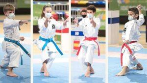 Olympic Karate Marbella logra un récord histórico al conseguir los campeonatos de España juvenil en femenino y masculino