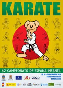 La Federación de Karate finalizará el año en Guadalajara, con la competición por federaciones