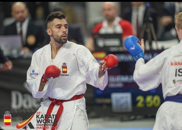 """El talaverano Raúl Cuerva sobre la eliminación del karate de París 2024: """"Al final no se entrena con la misma motivación ni con la misma ilusión"""" 0 (0)"""