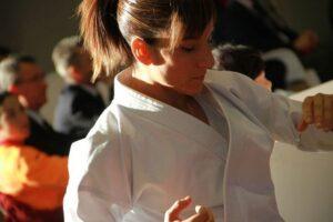 La karateca Sandra Sánchez, nombrada hija adoptiva de La Estrella