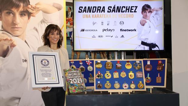 Sandra Sánchez: «Siempre dejo que la vida me sorprenda»