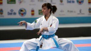 Sandra Sánchez, campeona del mundo de kárate, en Asuntos Exteriores