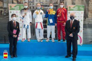 Tres metales para el Shotokan Tora en el Nacional Infantil