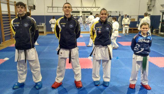La final de Liga Nacional de Karate contará con 4 alumnos del Club Suhari de Tías 0 (0)