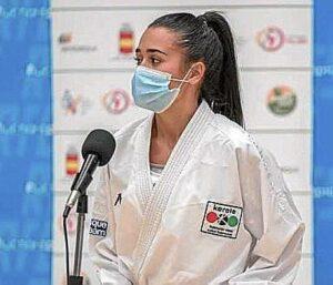Oro para Alba Pinilla en la Liga Nacional de karate