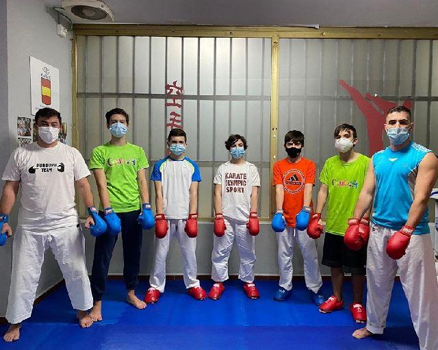 El karate caballa estrena el año en la cita de Alicante