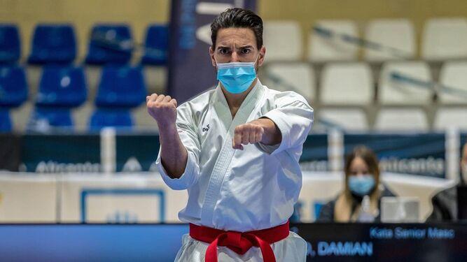 Damián Quintero suma su primer oro de 2021