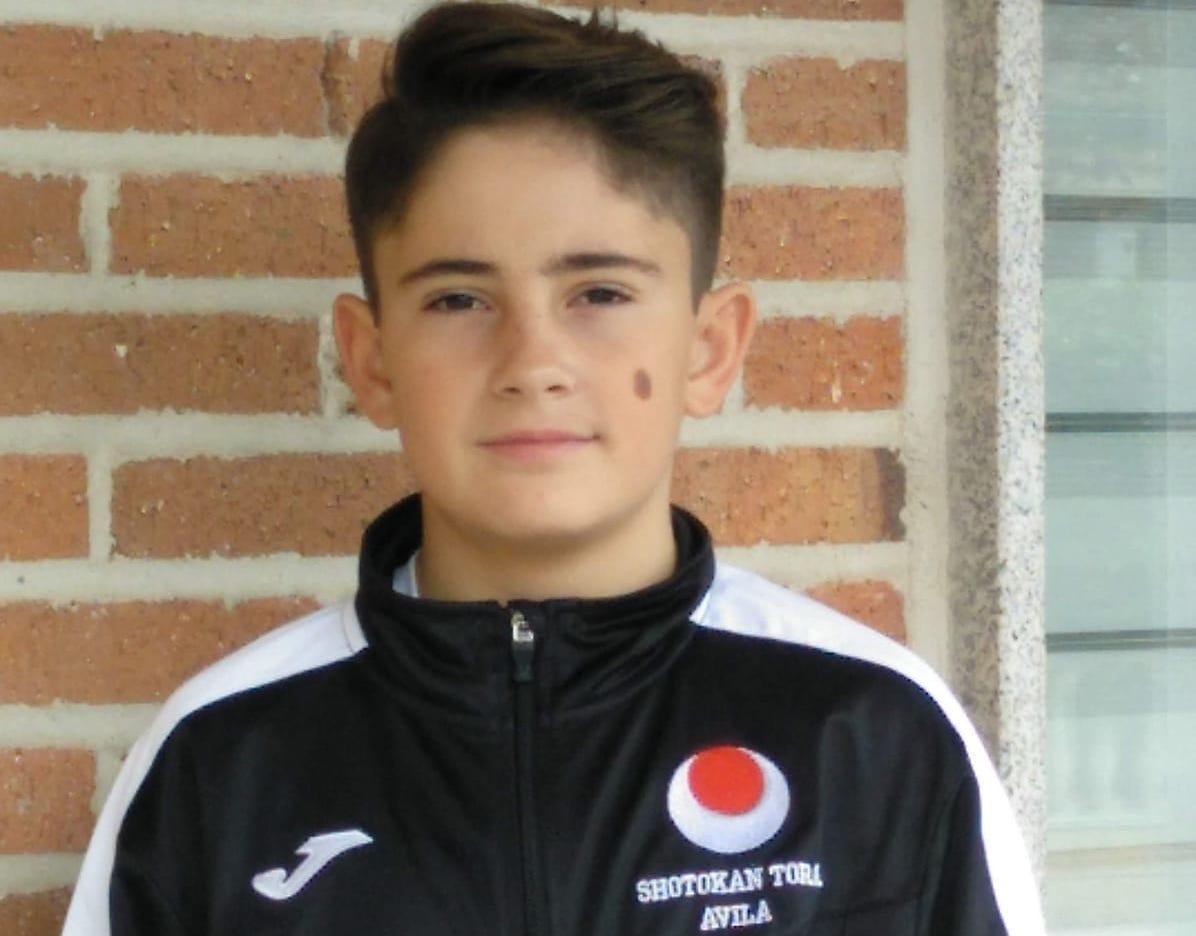 Jaime Palop, representante del Shotokan Tora en la Liga Nacional