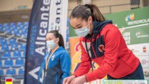 Paola García se cuelga el primer oro de 2021 en Alicante