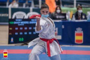Liga Senior de Karate: Sabrina Medero subcampeona nacional absoluta de katas