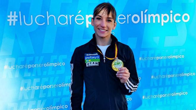 Una Sandra Sánchez 'de 10' comienza el año olímpico con victoria en Alicante