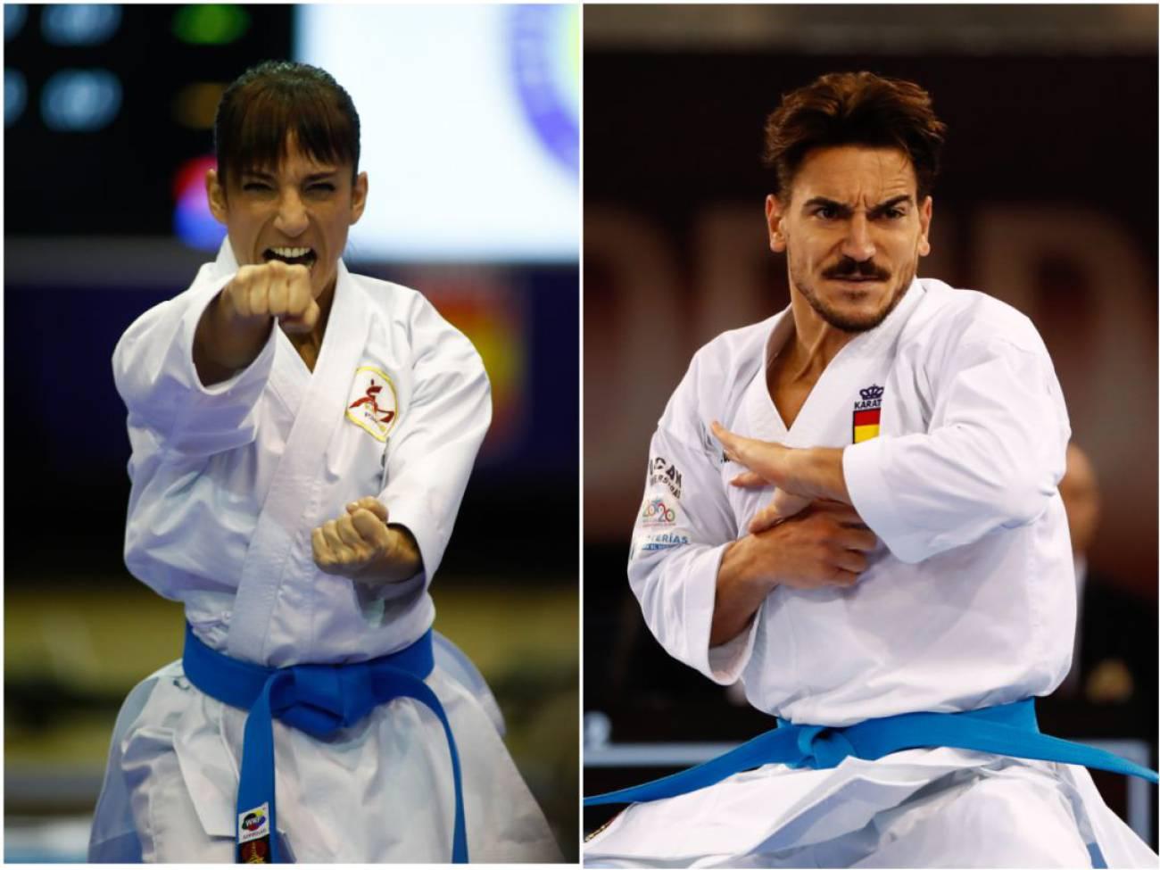 El único golpe de Sandra Sánchez y Damián Quintero para alcanzar el Olimpo