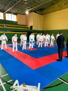 Sergio Bautista estará presente en el Campeonato Nacional de Karate