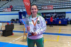 La moronense Andrea Romero se proclama Campeona de España por equipos